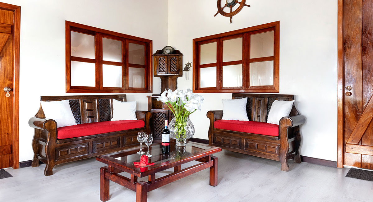 Living Room Wooden House